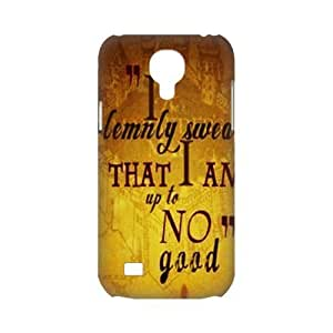 CTSLR Harry Potter Quotes 3D Hard Case Cover Skin for Samsung Galaxy S4 Mini-1 Pack- 1