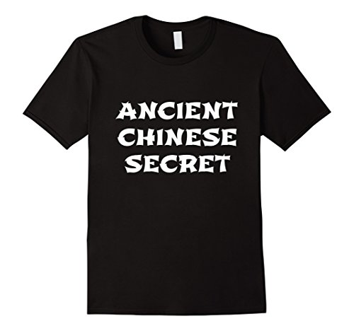 Mens Ancient Chinese Secret Funny Halloween Sauce T Shirt XL - Sauce Costume Soy