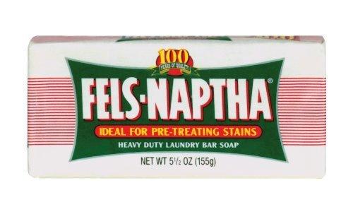 Dial 723154 Fels Naptha Laundry Bar Soap, 5.5oz Size (Pac...