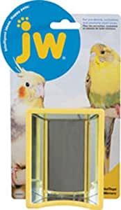 JW Pet Insight Hall of Mirrors Bird Toy, 8.5 x 5.3 x 2.3 inches