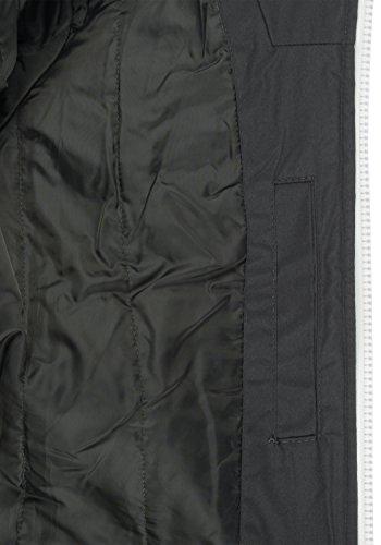 Tilly Chaqueta Hombre con De Capucha 2890 Dark Abrigo Grey para Entretiempo Solid OdqFxwO