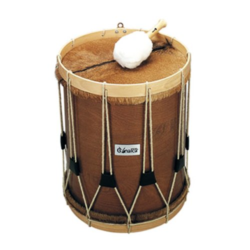 TIMBAL PERUANO NOGAL 38X45CM REF.04470 by Ortola