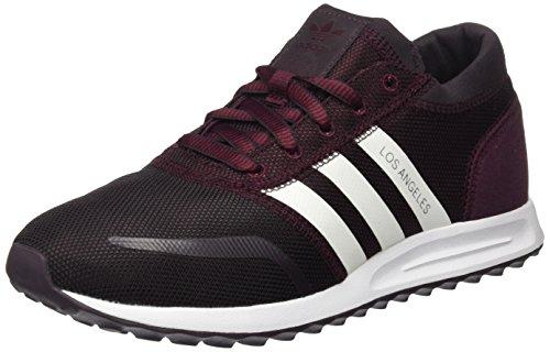 Adidas Herren Los Angeles Rot Bas En Haut (rouge Fonc