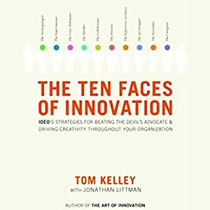 The Ten Faces of Innovation Audiobook