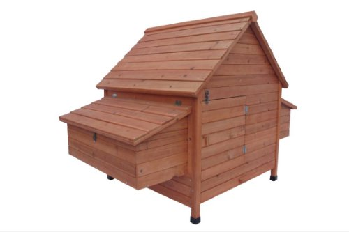 Ardinbir 62'' Deluxe Huge Solid Wood Chicken Coop / Hen House Duck Poultry Rabbit Hutch Cage with 6 Nesting boxes by Ardinbir (Image #2)