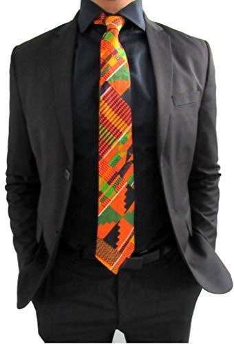 Kente Tie #2, African Kente Necktie, Men