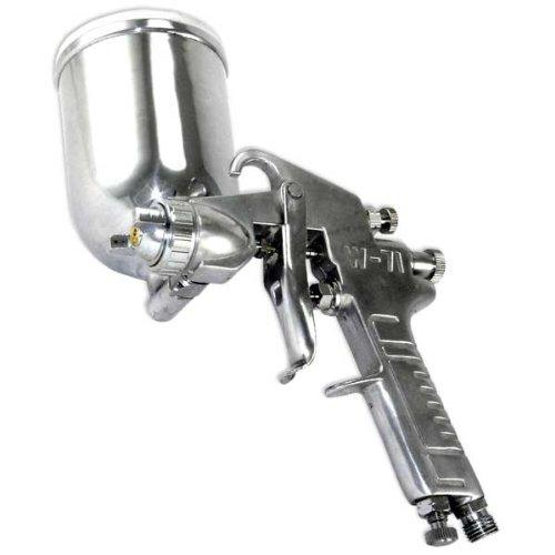 Gravity Feed Air Spray Gun 1.5mm w/Aluminum Cup