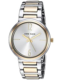 Anne Klein - Reloj de pulsera para mujer, Dos tonos, Una talla
