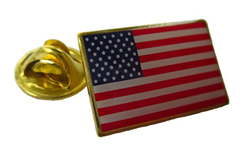 The BEST US Flag Lapel Pin-GREAT PRICE Made in America FLAG PIN Beautiful - Us Price