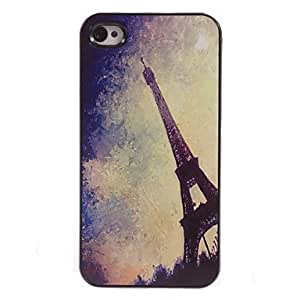 PEACH Eiffel Tower Design Aluminum Hard Case for iPhone 5/5S