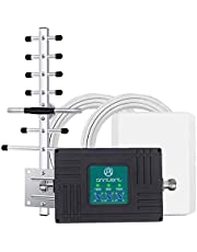 Cell Phone Signal Booster Cell Booster Band 2 5 12 17 Cellular Repeater Boosts Voice & Data for Canada House Home Cottage