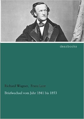 Briefwechsel vom Jahr 1841 bis 1853
