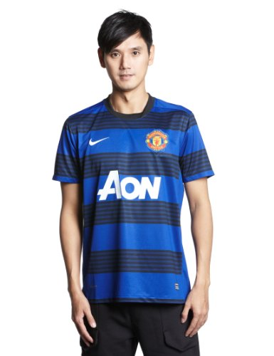 Nike Manchester United FC Away Jersey - X Large Black Blue 2011 Manchester United Jersey