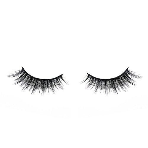 3D Mink False Eye Lashes Strip Fake Eyelashes Mink Fur Makeup Wispy Thick Natural Long Cross Reusable Hand-made Super Soft Fake Eyelashes 1 Pairs/pack (3D-018)