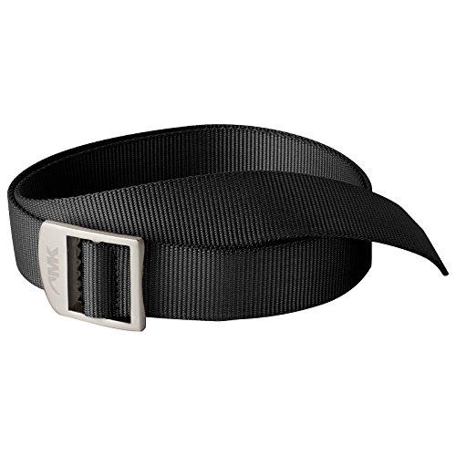 Mountain Khakis Leather - Mountain Khakis Webbing Belt (Black, One Size)