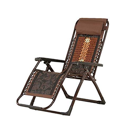 DFKDGL Silla reclinable al Aire Libre Silla de Playa Siesta Silla de Oficina para Pesca Camping Senderismo