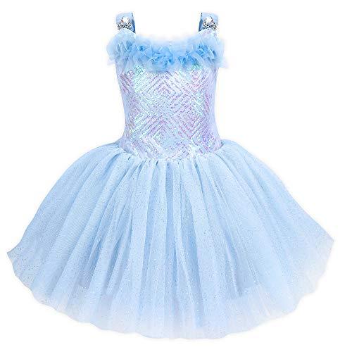 Disney Cinderella Fancy Dress for Girls Size 4 Blue]()