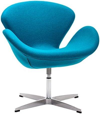 Zuo Pori Arm Chair, Island Blue
