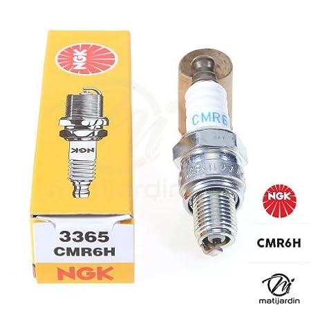 Bujía NGK para cortacésped, motosierra, Tipo CMR6H: Amazon.es ...