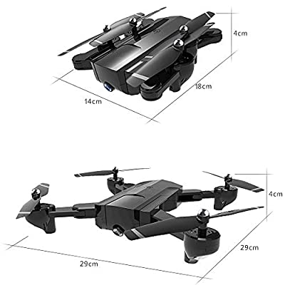 DZSM Quadcopter, Four-axis RC Airplane Adult Aerial Camera Helicopter Drone Remote Control HD Professional Long-Life Intelligent Aircraft