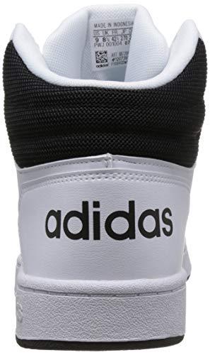 Mid Blanco White Para Hoops Adidas 2 De core Baloncesto core Zapatos ftwr Black Hombre 0 Black RtzSRqwxf