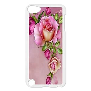Beautiful flower-Rose,quotes of love series protective cover FOR Ipod Touch 5 ROSE-021-U53161