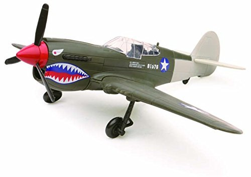 New Ray Curtiss P-40 Warhawk Plane Model Kit 1:48 Scale (Assembly Required) by NewRay