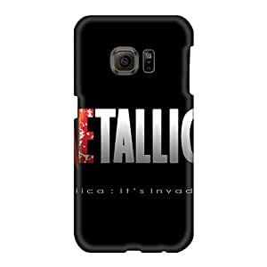 Scratch Protection Hard Phone Case For Samsung Galaxy S6 With Support Your Personal Customized HD Metallica Band Pictures RitaSokul