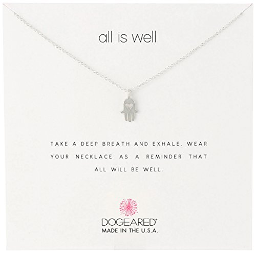 Dogeared All Well Hamsa Necklace 16 product image