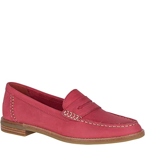 Price comparison product image SPERRY Women's Seaport Penny Nubuck Loafer,  Washed Red,  8