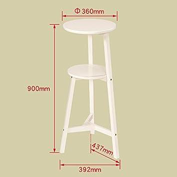 Stand MEIDUO 3 Reihen Regal Massivholz Blumenständer Wohnzimmer Möbel H 60  CM, H75CM, H90CM