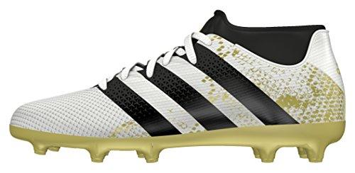adidas Jungen Ace 16.3 Primemesh FG/AG J Fußballschuhe, Blanco (Ftwbla / Negbas / Dormet), 38 2/3 EU
