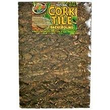 Natural Cork Tile Background Medium 12 X 18