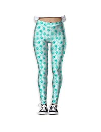 Anemones Or Jellyfish Women's Tights Active Yoga Running Pants Workout Leggings