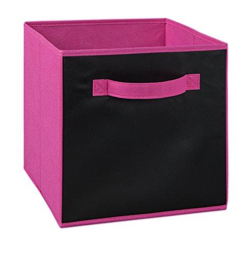 (ClosetMaid 1847 Cubeicals Fabric Drawer, Fuchsia)