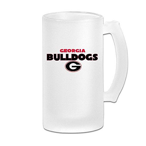 MeiSXue Georgia Bulldogs Football Team Gatech Logo Beer Mug