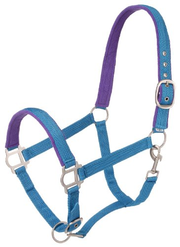 Tough 1 Nylon Padded Halter with Satin Hardware