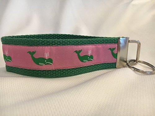 (Nautical Keychain, Nautical Gifts, Personalized Keychain, Custom Keychain, Whale)