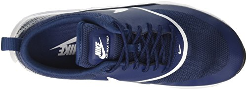 black Air Navy Femme NIKE Thea 419 Bleu White Baskets Max CvaqP