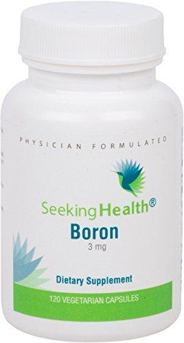 Бор | Обеспечивает 3 мг бора (как Albion® Bororganic глицина) в одной порции | 120 Easy-To-Ласточкиного вегетарианские капсулы | Номера ГМО | Бесплатный магния стеарат | поисках здоровья