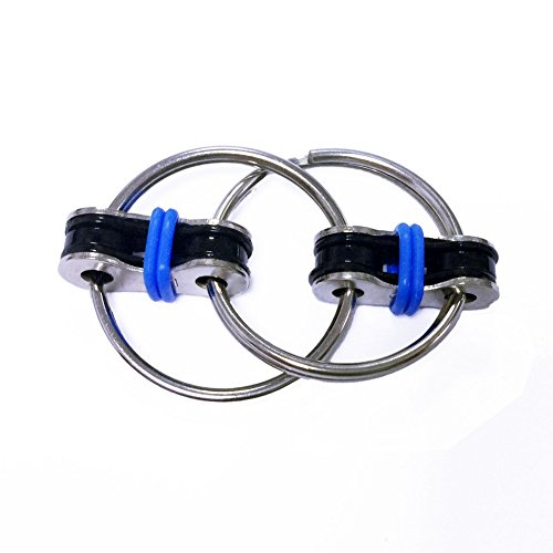 LIVEHITOP Flippy Bike Chain Fidget Toy - Relieve Stress Reducer Perfect For ADD, ADHD, Anxiety, Autism and Idle Hands