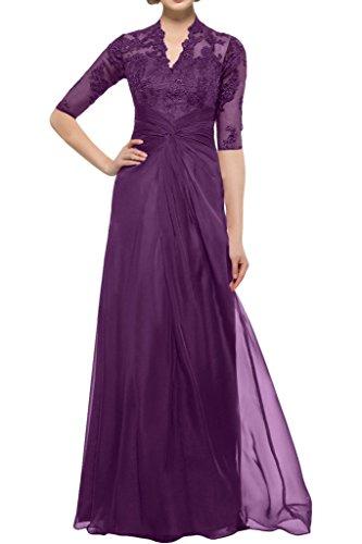 Missdressy - Vestido - para mujer Uva