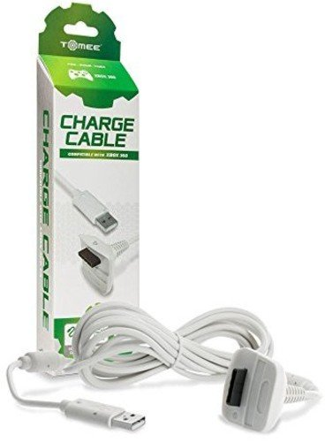 Xbox 360 Hyperkin Controller Charge Cable – White