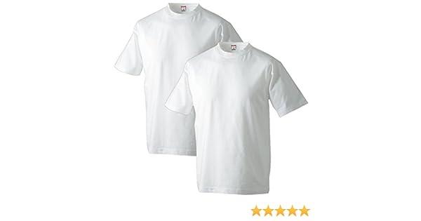 Adamo 2 Camisetas Blancas básicas en Tallas XXL: Amazon.es: Ropa y accesorios