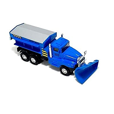 Playmaker Toys MA-9915D Show PLOW Trucks (Blue): Toys & Games