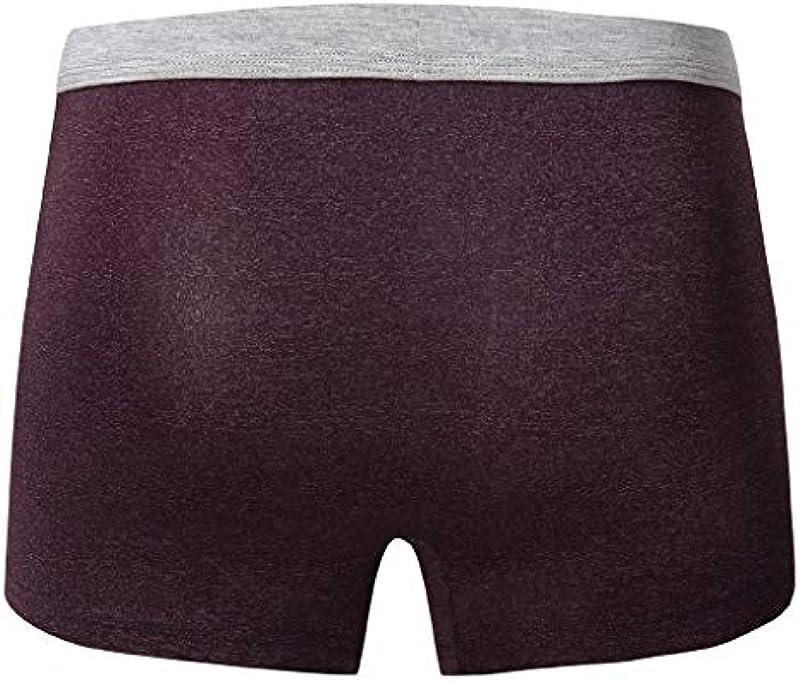 DeHolifer unterwäsche Męskie atmungsaktiv unterwäsche unterwäsche männer sexy männer unterwäsche Panties Męskie sexy unterwäsche Męskie Baumwoll-Unterwäsche separatec underwearhochwertige 4er Pack: Odzież