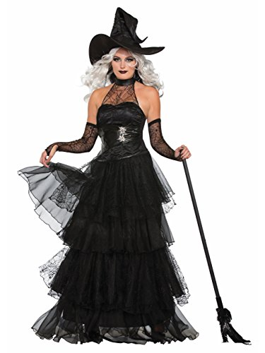 Witch Halloween Costumes For Women (Forum Women's Ember Witch Costume, Multi/Color, Medium/Large)