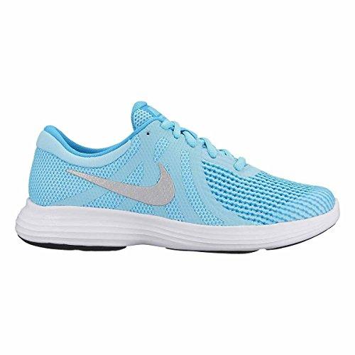 Nike Revolution 4 (GS) 943306 400 Mädchen Schnürhalbschuh blau