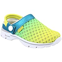 KazarMax Lemon Turquiose Fashion Slipon's/Sandals/Hopits/Clogs and Mules for Kids/Unisex (Made in India)