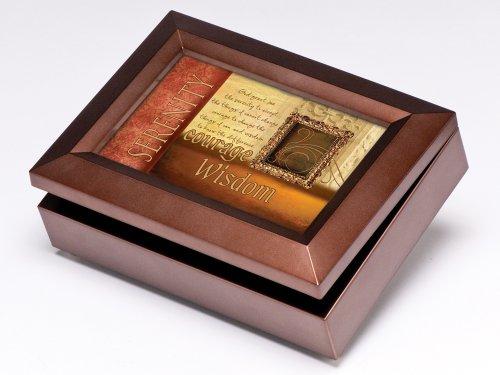 UPC 633303182779, Serenity Prayer Digital Music Box / Jewelry Box Plays My Wish by Rascal Flatts